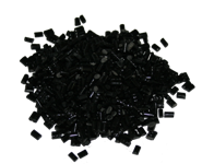 Black Color Knot Filler Pellets