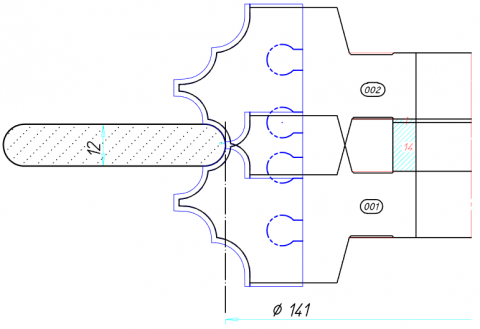 Full Radius Cutter Tool Drawings